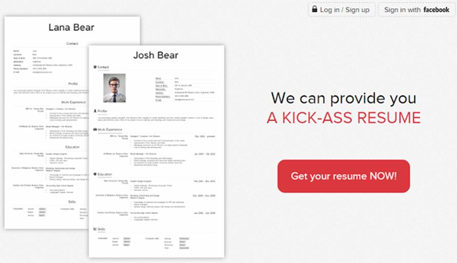 membuat resume online